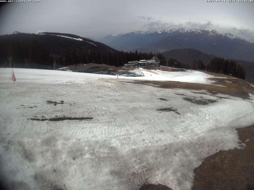 Aprica, webcam piste